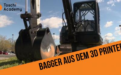 Erster Bagger aus dem 3D Drucker