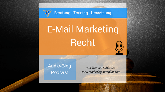 E-Mail Marketing Recht