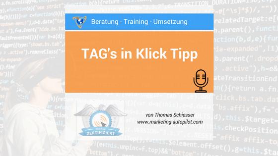 Die Tag Arten von Klick Tipp erklärt