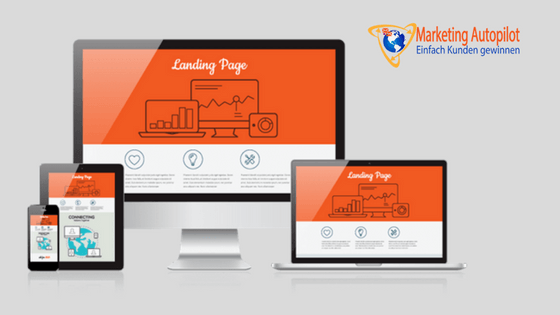 Landingpage mit hoher Conversion Rate