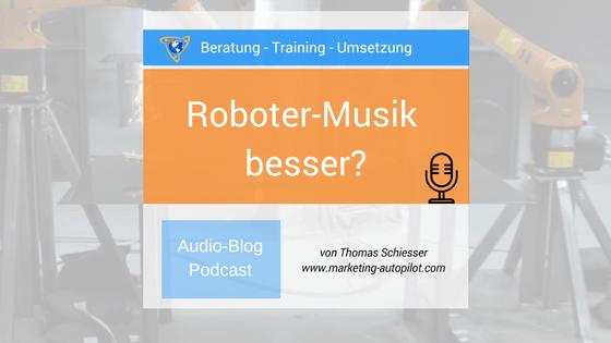 Automatisierung in der Musik die Zukunft
