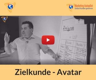 Zielkunde und Kunden Avatar