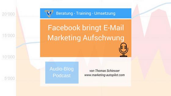 Facebook verhilft E-Mail Marketing zum Aufschwung