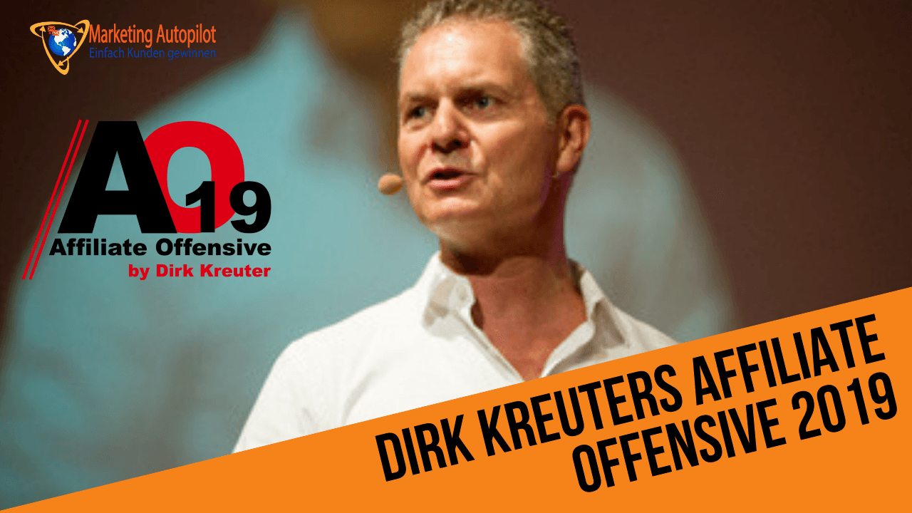 Dirk Kreuter - Affiliate Offensive 2019 - hier Tickets kaufen