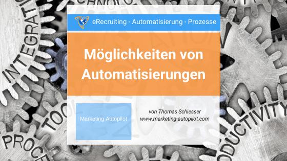 Möglichkeiten für Automatisierungen als KMU