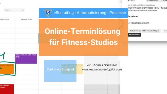 Acuity Scheduling Lösung für Fitness-Studio