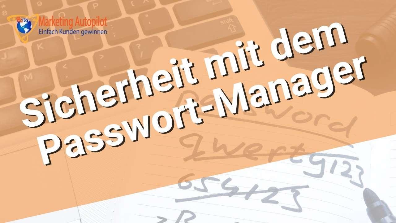 Zoho Vault Passwort-Manager