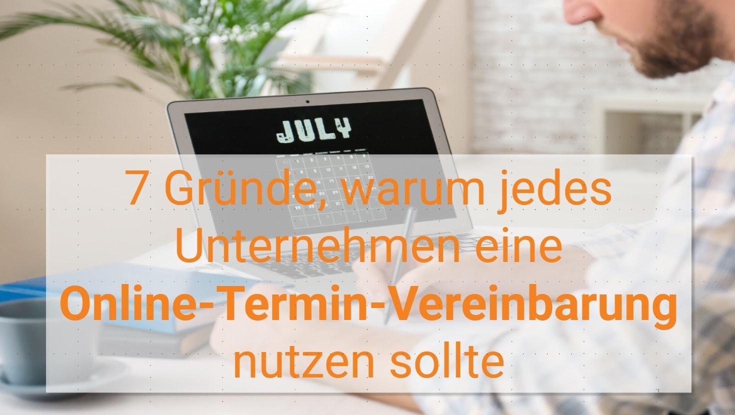 Webinar - Online Termin Vereinbarung