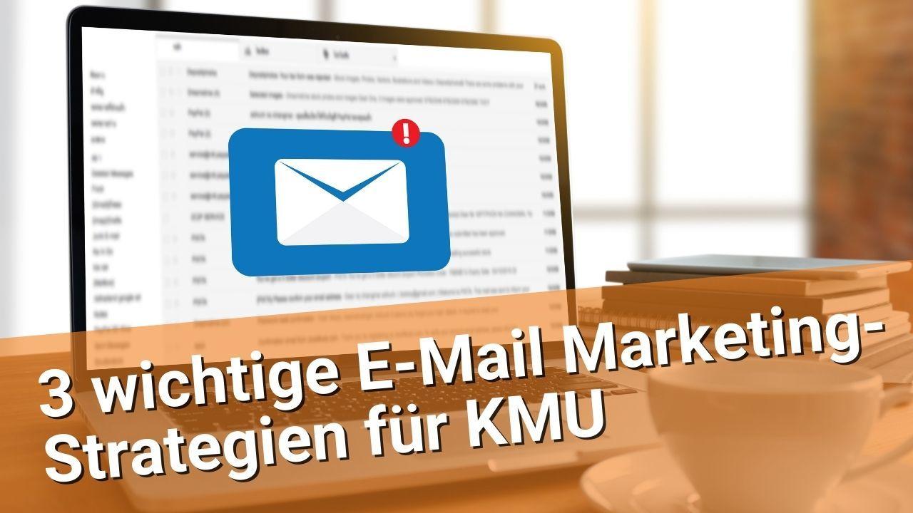 Webinaraufzeichnung E-Mail Marketing für KMU