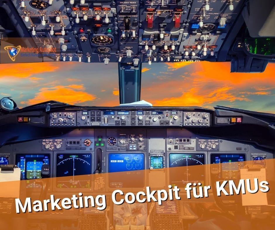 Das Marketing Cockpit für KMU führt Dich durchs digitale Marketing