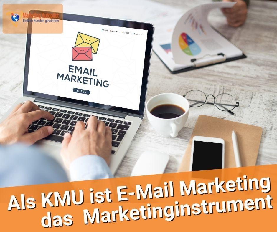 Gerade KMU aus Handwerk und technischen Bereichen müssen unbedingt auf E-Mail Marketing als Kommunikationsinstrument setzen